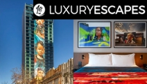 PERTH The Adnate Art Series Hotel Grand Opening Ft. World's Largest Mega Mural. Be Inspired w/ 2N Stay Incl. Breakie, Cocktails, Dining Credit & More!