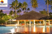 FIJI 4, 5 or 7-Night All-Inclusive Package for 4 People at 5* Naviti Resort! Buffet Meals, Pool, Alcohol, Golf, Shopping Trip, Snorkelling Trip & More
