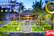 NUSA DUA, BALI 7 Nights in Unmatched Splendour at 5* Courtyard by Marriott Bali Nusa Dua Resort! Incl. Access to Exclusive Nusa Dua Beach Club & More
