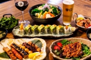 Delight Your Palate w/ a Delicious Japanese Lunch or Dinner + Drinks for 2 @ Umi Sushi and Bar! Assorted Tempura, Teriyaki Salmon & More. Upgrade to 4