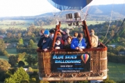 Soar to New Heights w/ a Hot Air Balloon Flight Over the Yarra Valley w/ Blue Skies Ballooning! Child or Adult Tickets. Upgrade to Add Brekkie