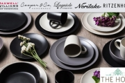 Add a New Level of Luxe to Your Dinner Parties w/ this Big Brand Tableware Sale! Kitchenware & Appliances from Gourmet Kitchen, Cooper & Co + More