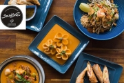 Hit the City for an En-Thai-cing Meal & Wine for 2 or 4 @ Social Street S2! Tuck into Pad Thai, Tom Yum Soup, Sarawak Laksa & More