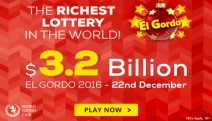 Don't Miss Your Chance to Win Your Share of Spain's Christmas El Gordo $3.2 Billion Lottery! The Bigger Your Share, the Bigger Your Potential Win!