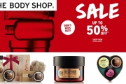 Get Your Dose of Luscious Beauty Products w/ The Body Shop Mid-Year Sale! Relish in Up to 50% Off Heavenly Bath Milks, Scrubs, Cosmetics & More
