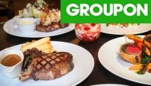 Satisfy Your Inner Caveman at Sydney's Famous Kingsleys Australian Steakhouse! $150 to Spend on Food + Drinks for 2, Think Sirloin, T-Bone & Rump