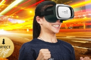 Immerse Yourself into a New Reality w/ this VR Headset + Remote for Just $19! Easy to Use & Great for Playing Games or Movies w/ a 3D Split Screen