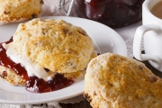 Treat Yourself to a Classic Devonshire Tea at Pie In The Sky in the Dandenongs! Enjoy Homemade Scones w/ Jam & Cream Plus Tea or Coffee for Two