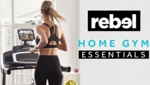No More Excuses! Get Active in the Comforts of Your Home w/ Rebel Sport's Home Gym Essentials! Incl. Boxing Gear, Fitness Mats, Hand Weights & More