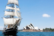 All Aboard a Majestic 1850's Style Tallship for a Harbour Cruise Like No Other! Explore the Harbour & Devour Lunch or Dinner! Upgrade to Incl. Drinks