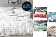 Sleep More Comfortably with these Gorgeous Gioia Casa Reversible Quilt Cover Sets! Ft. Fab Designs, Made from 100% Cotton and 250 Thread Count