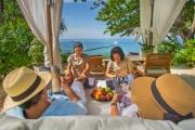 PHUKET, THAILAND 5N at 1 of Phuket's Most Exclusive Resorts @ Trisara! Ocean View Pool Junior Suite w/ Couple's Massage, Oceanfront Dinner & More