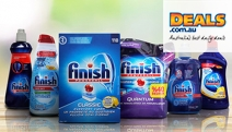 Keep Your Dishes Looking New Wash After Wash! Stock Up with This Selection of Finish Dishwashing Products from Only $19! Plus P&H
