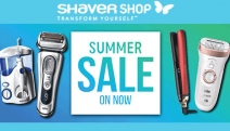 Get Your Grooming Essentials Sorted at the Shaver Shop! Shop the Summer Sale & Get Up to 75% Off a Range of Electric Shavers, ghd Stylers & More