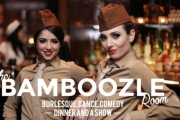 A Night to Remember at 'U.S. Oh!' or 'Talk and Tease' Comedy Burlesque Shows at The Bamboozle Room, Potts Point! Opt for Cocktails or Dinner & Wine