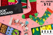 Life's Too Short for Drab Colours! Infuse Some Vibrancy to Your Day w/ Sock Exchange Fun Socks! Bold Prints in Pairs or Packs All Under $12, Plus P&H
