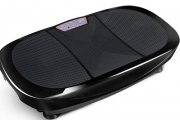 Shake Off Those Extra Kilos with a Double Motor Fitness Vibration Plate! Ideal for a Range of Exercise Moves, Incl. Resistance Bands & More