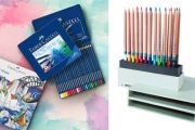 Colour Outside the Lines w/ Pencils, Markers, Watercolours, Colouring Books & More from Big Brands Incl. Faber-Castell & Staedtler. Plus P&H