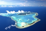COOK ISLANDS 6 Nights Surrounded by Pristine White Sandy Beaches + Turquoise Lagoons! Beachfront Bungalow Stay at 5* Pacific Resort, Aitutaki Island