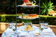 Indulge in a Weekday or Weekend High Tea + Glass of Bubbly @ The Lobby Lounge, Shangri-La Hotel Sydney! Enjoy 3 Tiers of Sweet & Savoury Treats + More
