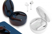 Don't Be Wired for Sound! Try Wireless Bluetooth 5.0 Stereo Earbuds w/ Built-In Microphone & Charging Box. Ft Intelligent Noise Reduction & More