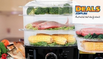 Cook Food the Healthier Way With a Food Steamer! Perfect for Vegetables, Dumplings & More! Choose from a Compact 5L or Family 9L Size