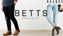 Step Out in Stylish Comfort with the Betts Footwear Collection for Men & Women! Shop a Range of Boots, Sandals, Heels, Dress Shoes & Lots More
