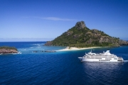 FIJI 7-Night Mamanuca & Yasawa Islands Cruise + Meals w/ Captain Cook Cruises Fiji! Snorkel, Dive & Swim Daily + Village Visits. Equipment Provided