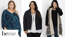 Embrace Your Curve Appeal w/ Women's Fashion from beme! Shop a Further 30% Off Sale Items for Sizes 14 & Up Incl. Knitwear, Pants, Dresses & More