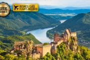EUROPE w/ BUSINESS CLASS FLIGHTS Once in a Lifetime 15-Day River Cruise Incl. Cologne, Vienna & More. Incl. 40 Meals, Unlimited Drinks & Lots More