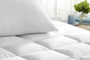 Banish Bad Sleep w/ Transeasonal Duck Feather & Down Mattress Toppers, Quilts & Pillows! 100% Natural Fibres to Support & Contour Your Body