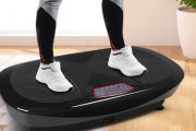 Spruce Up Your Workouts w/ this Everfit Dual-Belt Motor Vibration Machine! Designed to Shape Body & Tone Muscles! Incl. Resistance Bands + Remote
