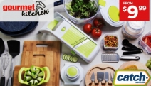 Whip Up Your Favourite Dishes with these Kitchen Must-Haves from Gourmet Kitchen! Ft. Slicer Dicer Pro Set, Cutting Boards, Knife Set + More