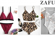 Treat Yourself to Stunning Lingerie with the Up to 70% Off Women's Intimates from ZAFUL! Luxurious Lace Bodysuits, Bralettes, Robe Sets & More