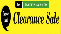 Now On! The Harris Scarfe Clearance Sale! 35-60% Off Manchester, 15-40% Off Electrical, Men & Women's Clothing & Sleepwear Clearance Items Plus More!