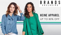 Your Closet Will Never Look the Same Again with the Heine Women's Apparel Sale! Shop Up to 80% Off On-Trend Dresses, Tops, Pullovers, Denim & More