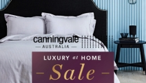 Treat Your Home to a Fresh Makeover with Canningvale Luxury at Home Sale! Shop Luxury for Less w/ Quilt Cover Sets, Egyptian Towels, Furnitures & More