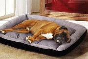 Treat Your Four Legged Friend to a Superior Snuggle Experience w/ the Plush Pet Bed Mattress! Available in 3 Sizes for Dogs & Cats in Black or Navy