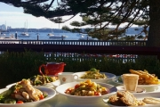 Enjoy a Leisurely Lunch & Coffee w/ Sweeping Harbour Views @ Watsons Bay Tea Gardens! Menu Incl. Smoked Salmon Penne, Crispy Fish & Chips & More