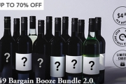 Stock Up on Booze this Silly Season! Grab this $49 Bargain Booze Bundle 2.0! Back By Popular Demand, Ft. Wine Incl. Sauv Blanc, Pinot Noir & Lots More