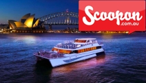 See the Spectacular Sydney Vivid Festival w/ a 2-Hour Harbor Cruise on Luxe Harbour Spirit! Enjoy Drinks on Arrival, Buffet Dinner & On-Board DJ