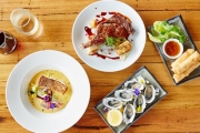 Get Your Next Meal w/ a Beach View @ Lady Grange in St Kilda! Seafood Feast for 2 for Only $49! Incl. Thai Lobster Cigars, Fresh Oysters Plus Mains