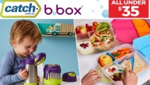 Kids' Meal Time is Now a Breeze with b.box Kids' & Baby Feeding Essentials! All Under $35 - Shop Lunch Boxes, Drinking Bottles, Sippy Cups & More