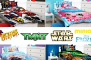 Your Child Will Love Bed Time w/ this Range of Kid's Quilt Covers Feat. Some of Their Fave Brands! Incl. Peppa Pig, Disney Princess, TMNT & More