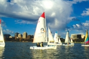 Sail Away on a 3-Hour Intro to Sailing Workshop at the Boatshed! Choice of Sail Courses are Available for Ages 7+. Includes PFD1 Life Jackets