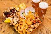 Dive into a Seafood Feast w/ a Range of Delish Seafood at Salty Squid @ Sydney Fish Market! Ft. Fisherman's Seafood Platter w/ Beers for 2 & More