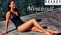Feel Confident on the Beach w/ the Miraclesuit Swimwear Sale! Designed to Shape, Control & Flatter Your Figure. Lots of Great Designs & Colours