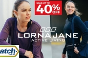 Sweat it Out in Style w/ New Lorna Jane Activewear! Save Up to 40% Off the Endurance Active Zip Jacket, Yoga Bag, Post Workout Long Sleeve Top & More