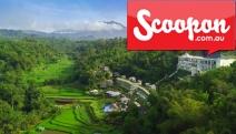 BALI 5N Wellness Retreat w/ All-Inclusive Meals @ 5* Saranam Resort & Spa! 1-Hr from Ubud. Hilltop Villa for 2 w/ Lavish Dining, Pampering  & More