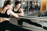 Combine Pilates, Fitness & Ballet for a Complete New Workout At The Barre! Think Toned Butt, Thighs, Abdominals & Arms, Strengthened Core & More